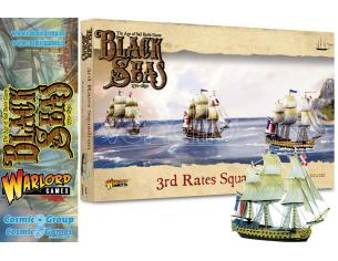 WARLORD GAMES BLACK SEAS 3rd RATES SQUADRON WARGAME