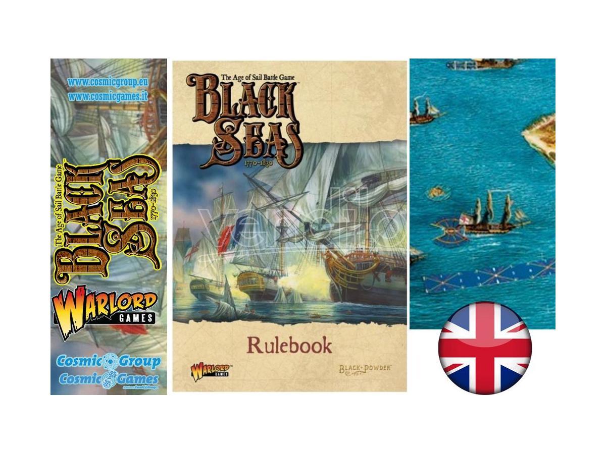 WARLORD GAMES BLACK SEAS RULEBOOK WARGAME