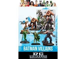 KNIGHT MODELS DCUMG BATMAN VILLAINS BOX WARGAME