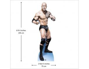 STAR THE ROCK DWAYNE JOHNSON LIFESIZE CUTOUT Sagomato Lifesize