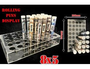 GSW ROLLING PINS DISPLAY 8X5 ACCESSORI PER MODELLISMO