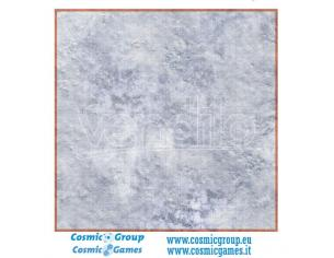PWORK PWORK RPG COMBAT MAP SNOW PLAIN 30x30 In ACCESSORI