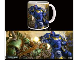 SEMIC WARHAMMER 40K ULTRAMARINES VS NURGLE MUG TAZZA