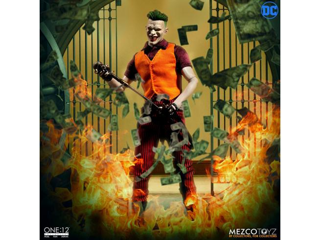 MEZCO TOYS ONE12 THE JOKER CLOWN PRINCE OF CRIME ED ACTION FIGURE