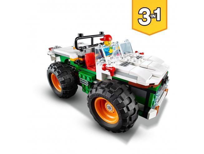 LEGO CREATOR 31104 - MONSTER TRUCK DEGLI HAMBURGER