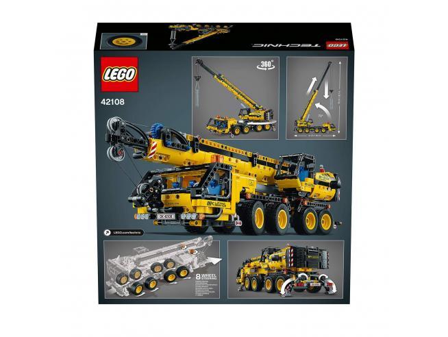 LEGO TECHNIC 42108 - GRU MOBILE