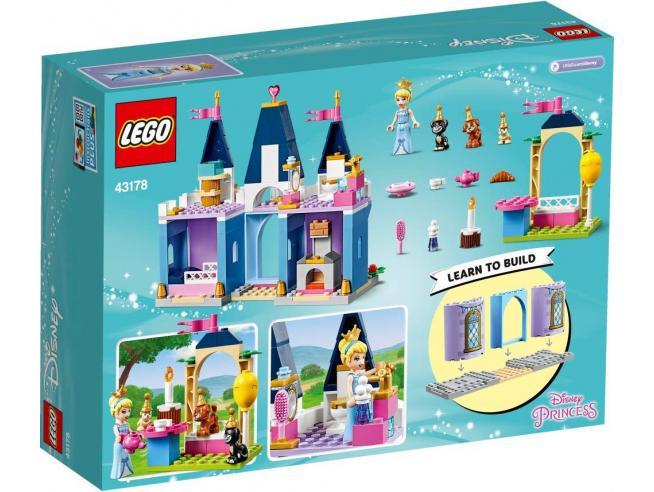 LEGO DISNEY PRINCESS 43178 - LA FESTA AL CASTELLO DI CENERENTOLA