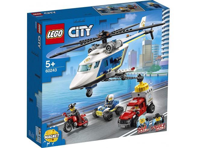 LEGO CITY POLIZIA 60243 - INSEGUIMENTO SULL'ELICOTTERO DELLA POLIZIA