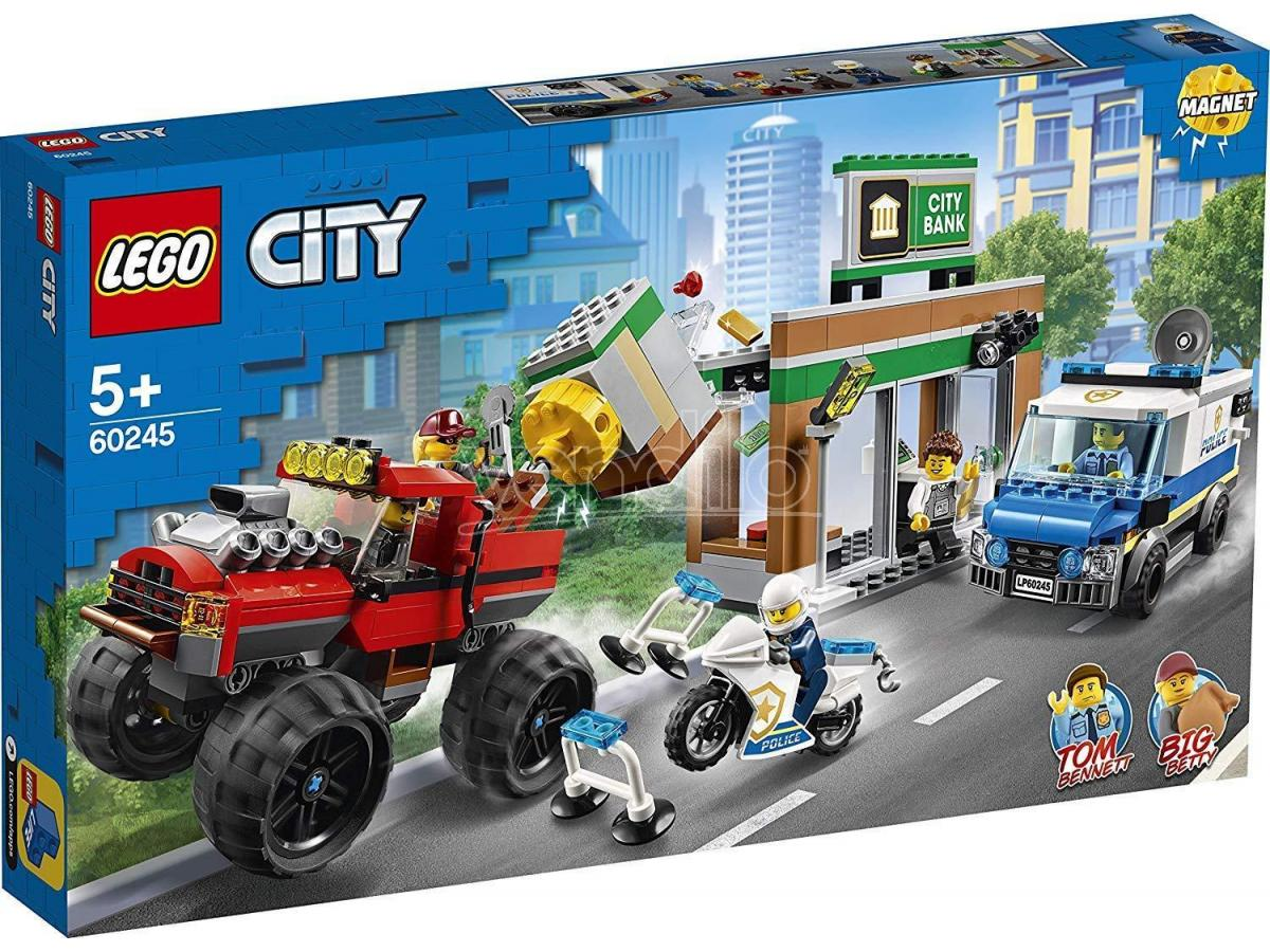 LEGO CITY POLIZIA 60245 - RAPINA SUL MONSTER TRUCK