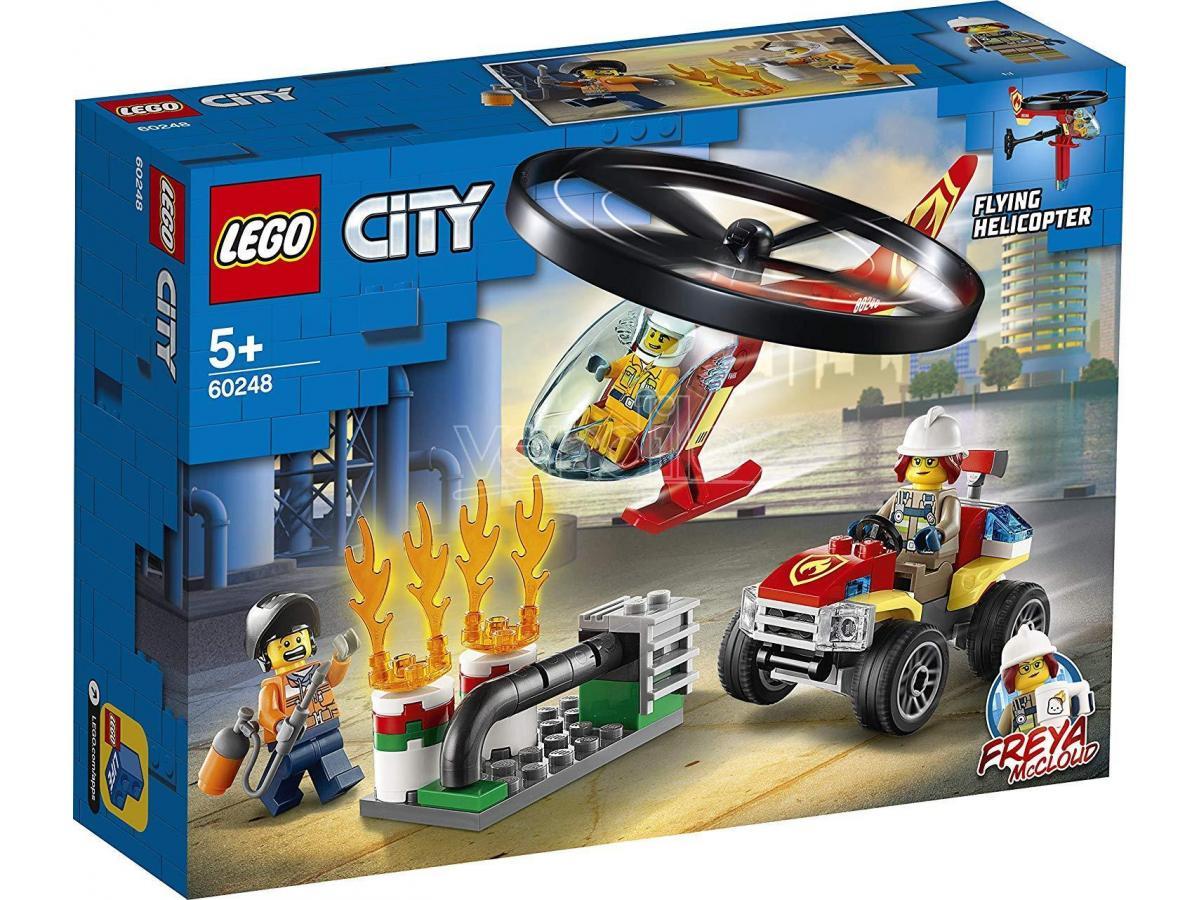 LEGO CITY 60248 - ELICOTTERO DEI POMPIERI