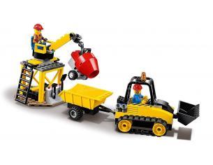 LEGO CITY 60252 - BULLDOZER DEI POMPIERI