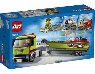 LEGO CITY 60254 - TRASPORTATORE DI MOTOSCAFI