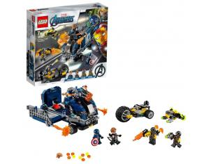 LEGO MARVEL SUPER HEROES 76143 - AVENGERS: ATTACCO DEL CAMION