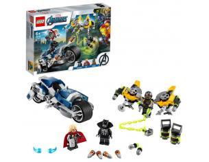 LEGO MARVEL SUPER HEROES 76142 - AVENGERS: ATTACCO DELLA SPEEDER BIKE