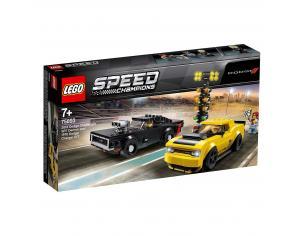 LEGO SPEED CHAMPIONS 75893 - 2018 DODGE CHALLENGER SRT E 1970 DODGE GARGER