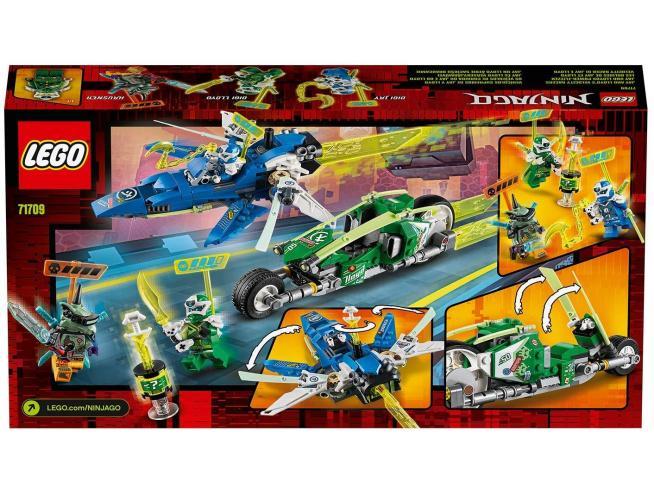 LEGO NINJAGO 71709 - I BOLIDI DI VELOCITA' DI JAY E LOYD