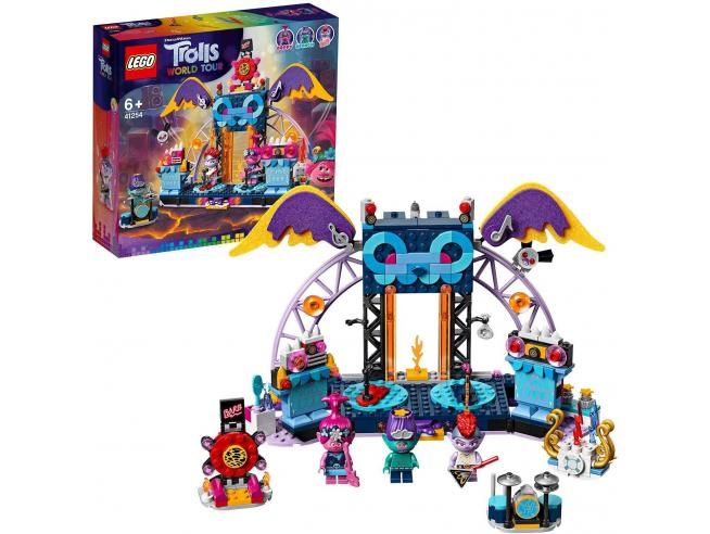 LEGO TROLLS WORLD TOUR 41254 - CONCERTO A VULCANO ROCK CITY