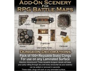 DM VAULT ADD-ON SCENERY FOR RPG BATTLE MATS ACCESSORI