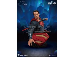 BEAST KINGDOM BUST SERIES JUSTICE LEAGUE SUPERMAN BUSTO