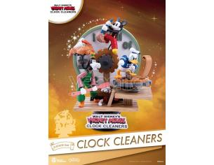 BEAST KINGDOM D-STAGE MICKEY MOUSE CLOCK CLEANERS FIGURA