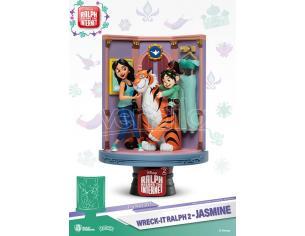 Ralph 2 Statua Jasmine & Vanellope D-Stage Diorama Figura 15 cm Beast Kingdom