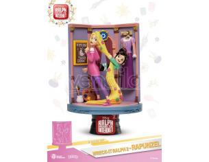 Ralph 2 Statua Rapunzel & Vallenope D-Stage Diorama Figura 16 cm Beast Kingdom