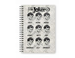 Sd Toys Dc Joker Faces Spiral Agenda Taccuino