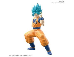 BANDAI MODEL KIT EG DRAGON BALL S SAIYN GOD SS SON GOKU MODEL KIT