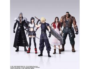 SQUARE ENIX FF7 REMAKE TRADING ARTS DISPLAY (5) MINI FIGURA