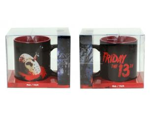 SD TOYS FRIDAY THE 13TH JASON MASK POSTER MUG TAZZA
