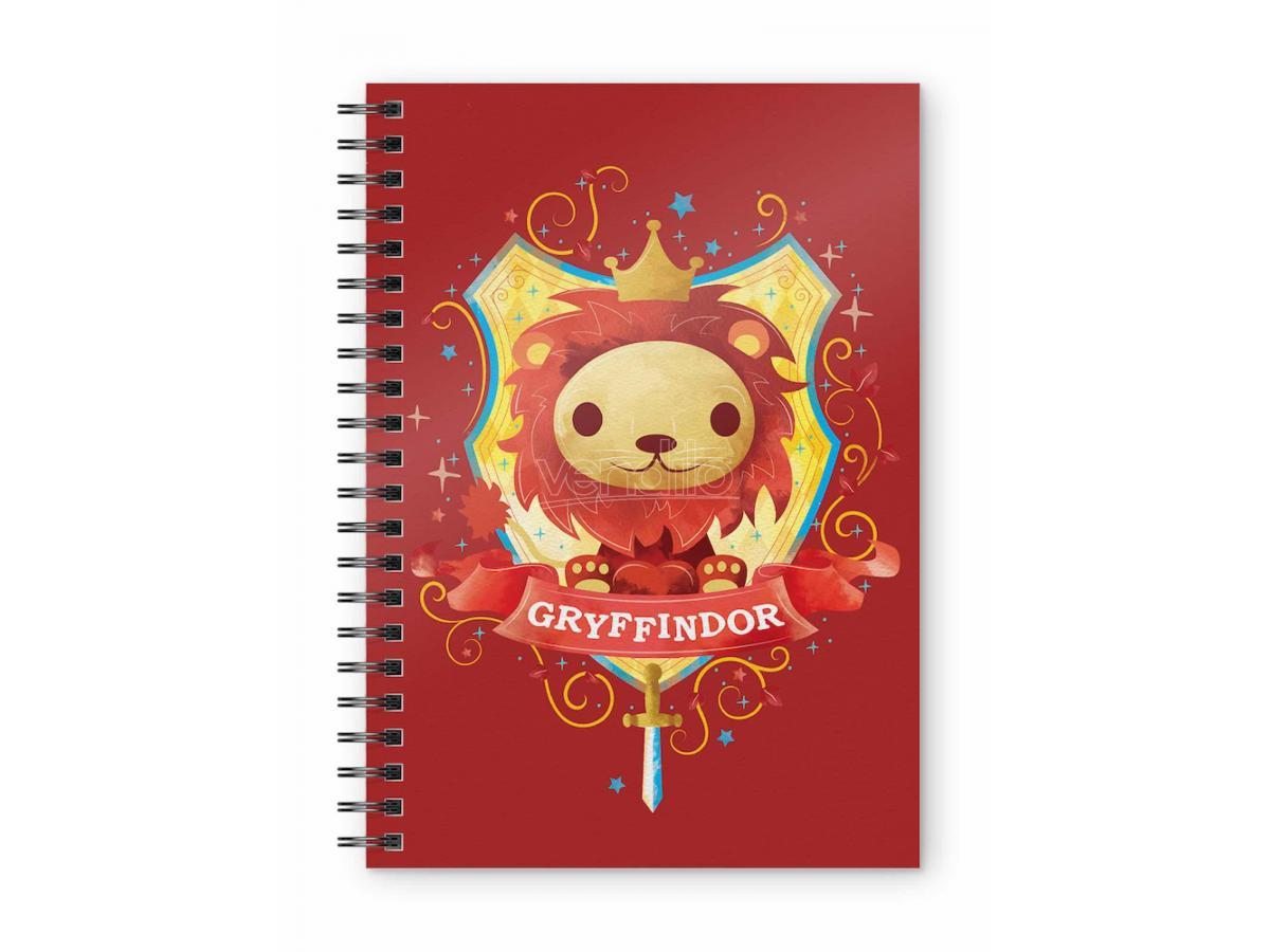 SD TOYS HP GRYFFINDOR KIDS SPIRAL NOTEBOOK TACCUINO