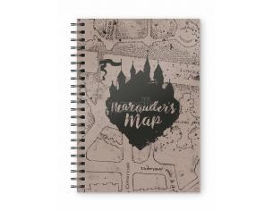 SD TOYS HP MARAUDER'S MAP SPIRAL NOTEBOOK TACCUINO
