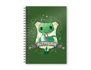SD TOYS HP SLYTHERIN KIDS SPIRAL NOTEBOOK TACCUINO