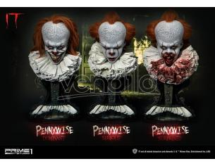 PRIME 1 STUDIO IT PENNYWISE BUST COMPLETE 2017 SET (3) BUSTO