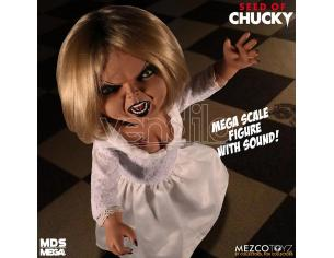 MEZCO TOYS MDS MEGA SCALE SEED OF CHUCKY TIFFANY ACTION FIGURE
