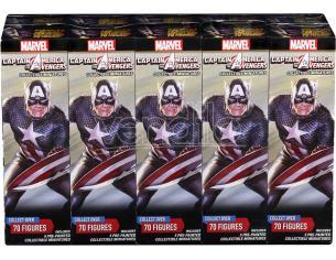 Wizbambino Mhc Cap.america & Avengers Booster Brick Gioco Da Tavolo