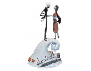 DIAMOND SELECT NBX MILESTONES JACK & SALLY STATUE STATUA