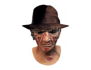 ToT NIGHTMARE O/E STR FREDDY DLX MASK HAT MASCHERA