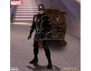 MEZCO TOYS ONE 12 COLL BLACK BOLT AND LOCKJAW ACTION FIGURE