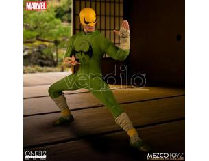 MEZCO TOYS ONE 12 COLL IRON FIST AF ACTION FIGURE