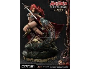 PRIME 1 STUDIO RED SONJA SHE DEVIL WITH A VENG DLX ST STATUA