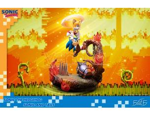 First4figures Sonic The Hedgehog Sonic E Tails St Statua
