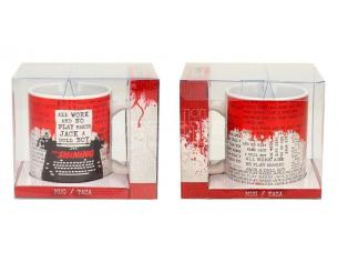 SD TOYS THE SHINING TYPEWRITER CERAMIC MUG TAZZA