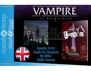 MODIPHIUS VAMPIRE THE MASQUERADE FALL OF LONDON GIOCO DI RUOLO