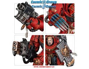 GAMES WORKSHOP WARHAMMER40K SPACE MARINE HEROES S2 (10) Miniature e Modellismo