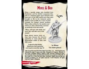 GF9-BATTLEFRONT D&D MINSC & BOO EXCLUSIVE EDITION MINI FIGURA