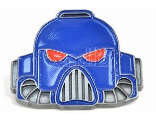 Hmb W40k Casco Metallo Enameled Badge Spilla