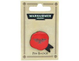Hmb W40k Purity Seal Metallo Enameled Badge Spilla