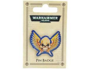Hmb W40k Space Marines Metallo Enameled Badge Spilla