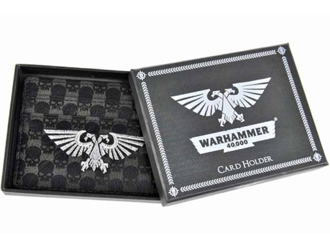 HMB W40K WARHAMMER IMPERIALIS CARD HOLDER PORTAFOGLIO